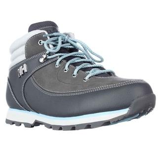 Helly Hansen Tryvann 534 Trail Running Shoes - Charcoal/Light Grey/Secret Blue