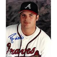 Ryan Klesko signed Atlanta Braves 8x10 Photo close up