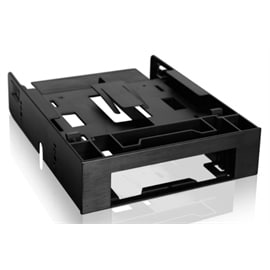 ICY DOCK Storage MB343SP 3.5inch to 5.25inch Front Bay Conversion Kit with 2x2.5inch HDD/SSD Bay Retail