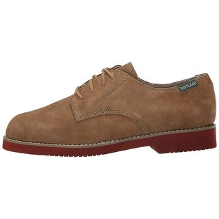 Eastland Womens Buck Leather Closed Toe Oxfords