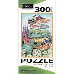 "Garden Sign - Jigsaw Puzzle 300 Pieces 14.5""X20.5"""