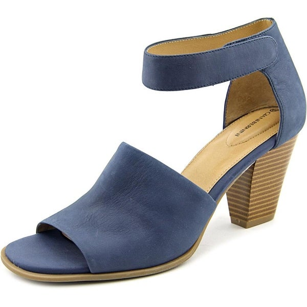 Giani Bernini Viraa Women Open Toe Leather Sandals