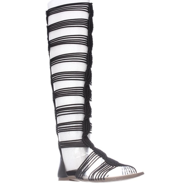 966616c8171 Shop Circus by Sam Edelman Badger Knee High Gladiator Sandals ...