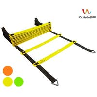 Wacces Speed  Adjustable Agility Ladder with Carrying Bag - 8 Rungs
