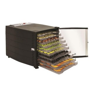 Chard DE-10 10 Tray Temperature Controled Food Dehydrator