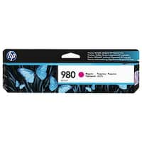 HP 980 Yellow Original Ink Cartridge (D8J08A)(Single Pack)