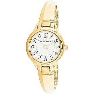 Anne Klein Women's AK-2452WTGB Gold Stainless-Steel Fashion Watch