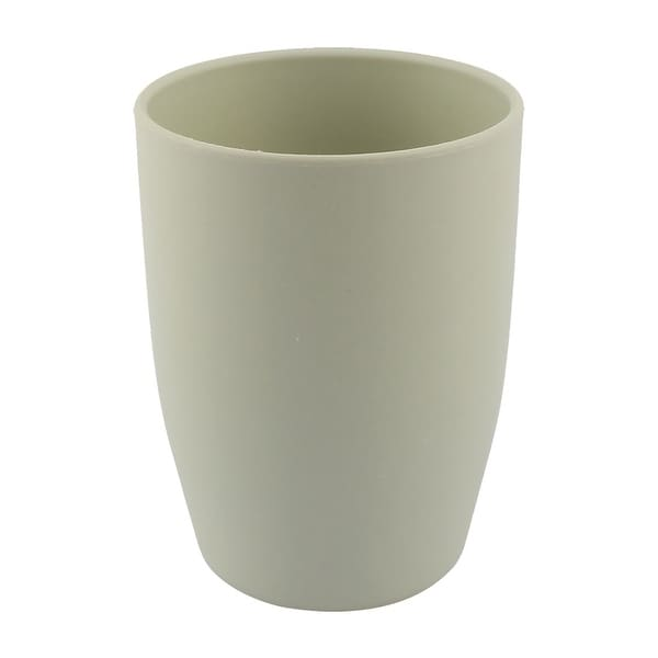 Bathroom Washroom PP Drinking Water Toothbrush Holder Gargle Cup Pale Green