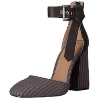 Shellys London Womens gillian Closed Toe Ankle Strap Classic Pumps - 6.5