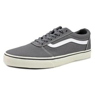 Vans Ward Men  Round Toe Canvas Gray Skate Shoe