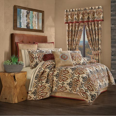 Five Queens Court Teller Comforter Set