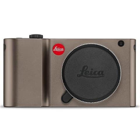 Leica TL 16MP Camera, Titanium Anodized Finish (Certified Refurbished)