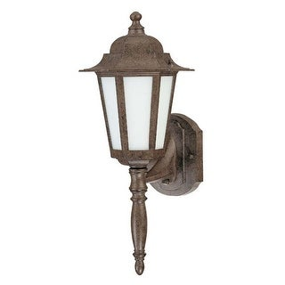 Nuvo Lighting 60/2202 Single Light Up Lighting Outdoor Wall Sconce from the Cornerstone ES Collection
