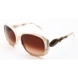 Judith Leiber Women's Radiance Sunglasses Ivory - Small
