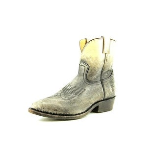 Frye Billy Short Pointed Toe Leather Western Boot