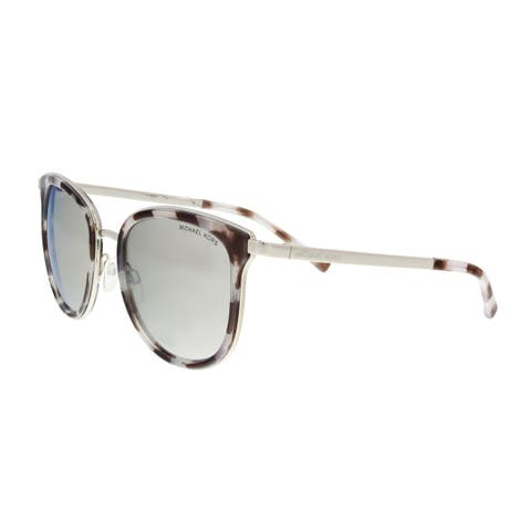 95421f7aa3 Michael Kors MK1010 11986G Snow Leopard  Silver Cat eye Sunglasses - 54-20-