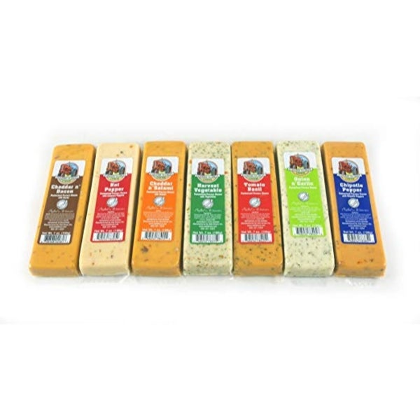 7ct Farmers Market Variety Cheese Block 7 oz. each - Multi. Opens flyout.
