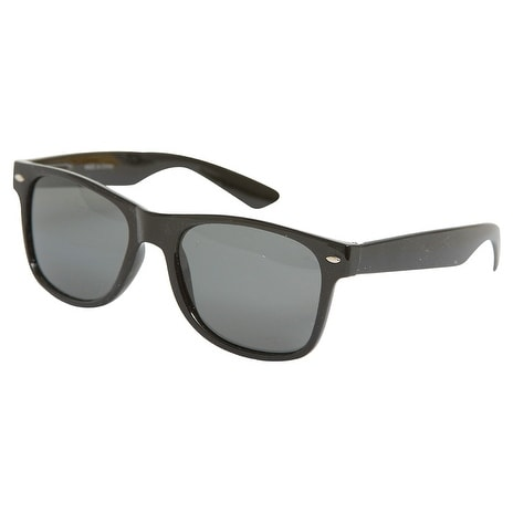 550d42d32e Shop The Original Classic Black Horn-rimmed Sunglass + Free Micro Case -  One Size - Free Shipping On Orders Over  45 - Overstock - 16949581