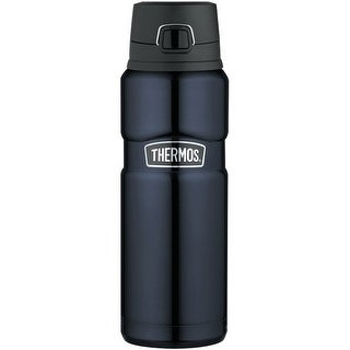 Thermos Stainless King Stainless Steel, Vacuum Insulated Drink Bottle - Midnight Blue - 24 oz.