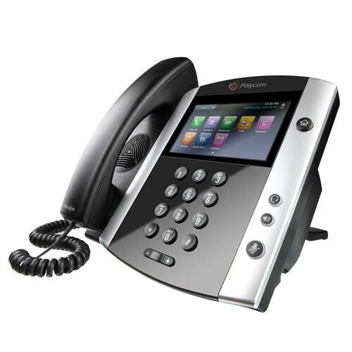 Polycom 2200-48600-019 Business Media Phone (16 Line)