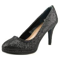 Style & Co Nikolete Women  Round Toe Synthetic Black Heels