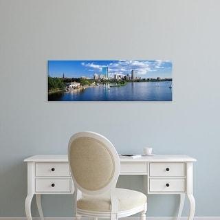 Easy Art Prints Panoramic Images's 'Boston, Massachusetts, USA' Premium Canvas Art