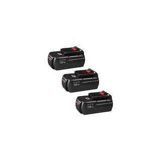 Replacement Battery For PC1800L Power Tools - PC18B (3000mAh, 18V, NiCD) - 3 Pack