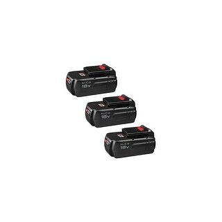 Replacement Battery For PC1801D Power Tools - PC18B (3000mAh, 18V, NiCD) - 3 Pack
