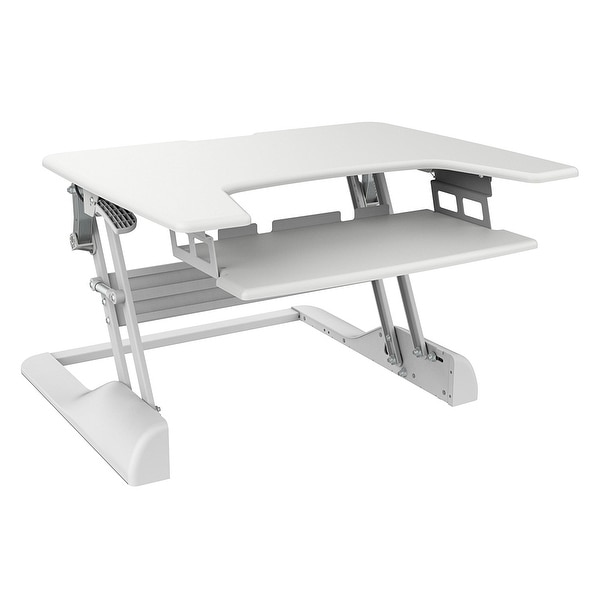 Ergotech Group, Inc. - Height Adjustable Spring Assisted Lift Mechanism Lets You Switch Between Sitting