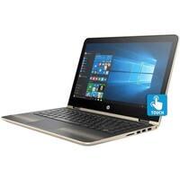 Refurbished - HP Pavilion x360 13t 13.3 Touch Laptop Intel i5-7200u 2.5GHz 8GB 128GB W10 -GOLD