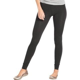 Alternative Apparel Womens Long Leggings Modal Blend Flat Front