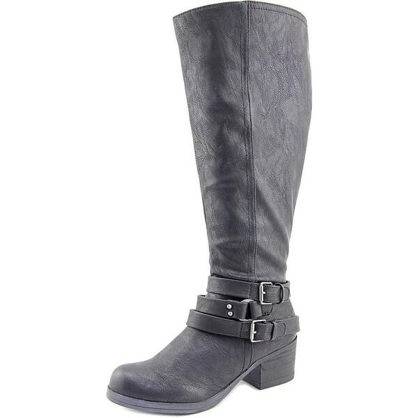 Carlos by Carlos Santana Camdyn Wide Calf Women Black Boots