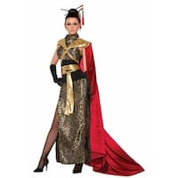 Dragon Empress Women's Costume Standard - Gold