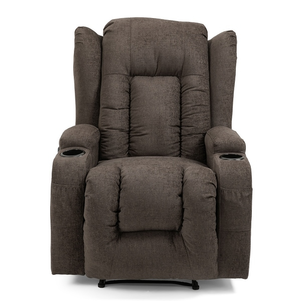 Lavonia Indoor Pillow Tufted Massage Recliner by Christopher Knight Home. Opens flyout.