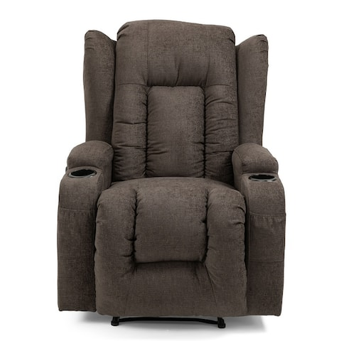 Lavonia Indoor Pillow Tufted Massage Recliner by Christopher Knight Home