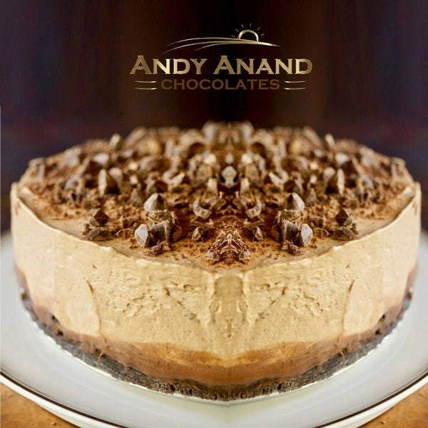 """Mocha Espresso Cheesecake 9"""" With 2nd Day Shipping (3 lbs)"""