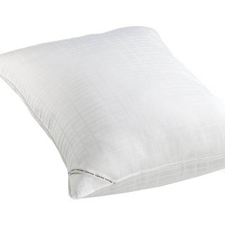 Calvin Klein Almost Down Select Cotton Hypoallergenic Bed Pillow - White