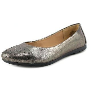 Easy Spirit Adrina Women Round Toe Synthetic Silver Flats
