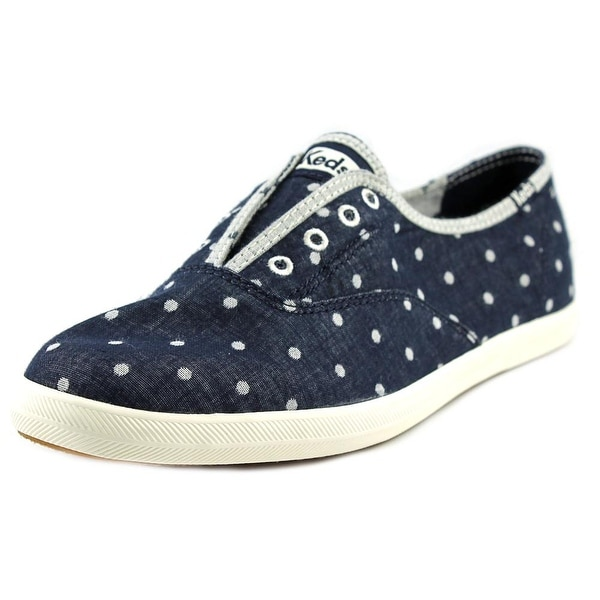 Keds Chillax Women Round Toe Canvas Gray Sneakers