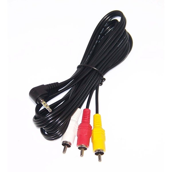 OEM Sony Audio Video AV Cord Cable Specifically For HXRNX30E, HXR-NX30E, HXRNX30P, HXR-NX30P, ICDSX1000, ICD-SX1000