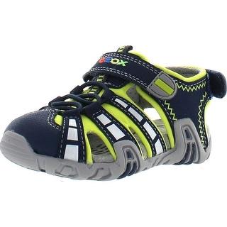 Geox Little Boys Protective Toe Sport Sandals