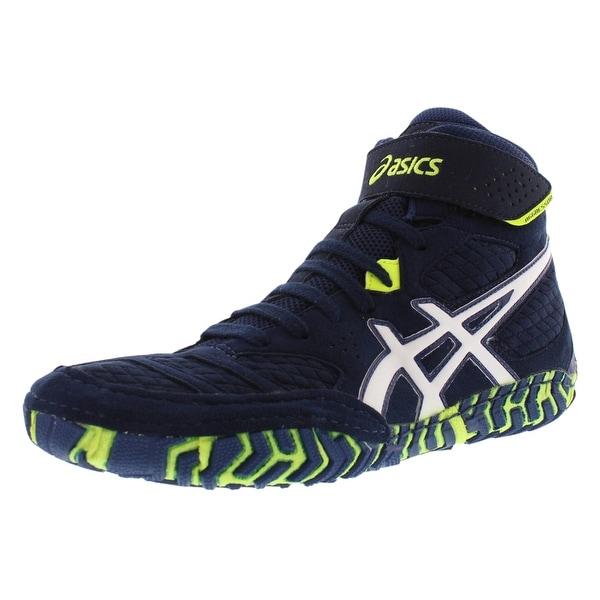 b1e59781cfa1 Shop Asics Aggressor 2 Wrestling Boot Wrestling Men s Shoes - Free ...