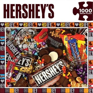 "Jigsaw Puzzle 1000 Pieces 19.25""X26.75""-Hershey's Mayhem"