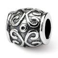 Sterling Silver Reflections Scroll Bali Bead (4mm Diameter Hole) - Thumbnail 0