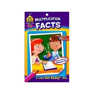 School Zone LGR Multiplication Facts Bk