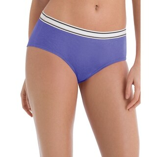 Hanes Sporty Women's Hipster Panties 6-Pack - Size - 9 - Color - Assorted