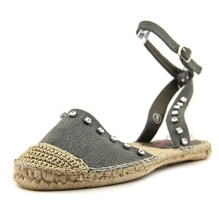 C Label Adler-6 Women Round Toe Synthetic Gray Espadrille
