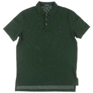 Polo Ralph Lauren Mens Polo Shirt Cotton Embroidered