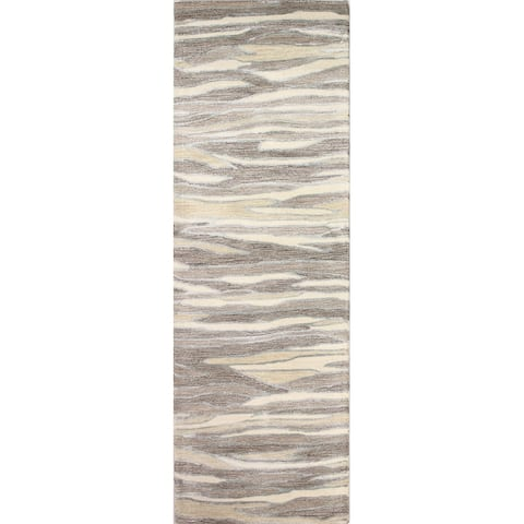 Bashian Mack Contemporary Hand Tufted Area Rug