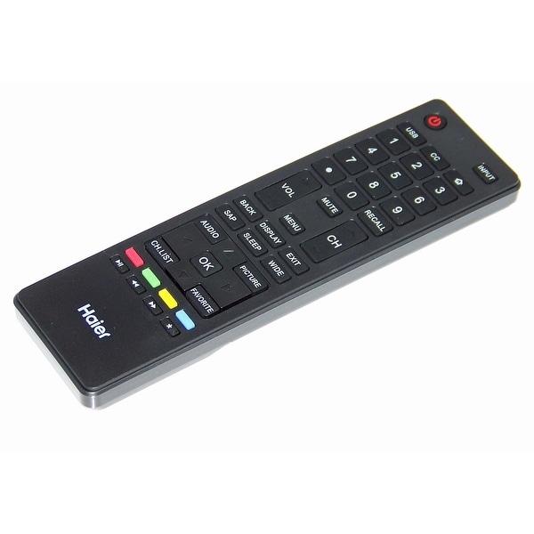 OEM Haier Remote Control Originally Shipped With 55E5500UB, 55E5500UC, 55E5500UE